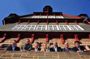 Der Vorstand der neuen FREIE WÄHLER Fritzlar um Dr. Christoph Pohl. Foto: nh