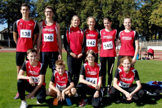 Das MT-Team glänzte in Schweinfurt mit zwölf ersten Plätzen und elf persönlichen Bestleistungen. Foto: nh