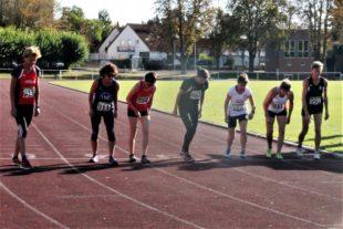 Start zum abschließenden 800m-Lauf. Foto: nh
