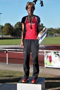 Nach dem WM-Titel im Hochsprung holt Jutta Pfannkuche auch Gold bei den süddeutschen Mehrkampfmeisterschaften. Foto: nh