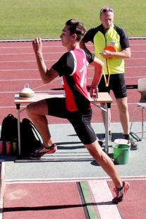 Dreifachsieger Yannick Schleider verschenkt 20cm. Foto: nh