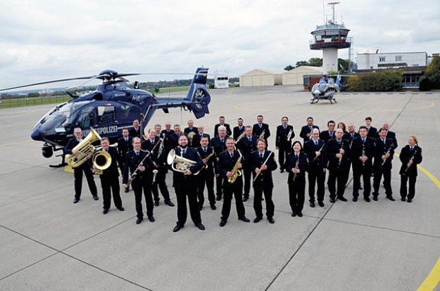 Bundespolizeiorchester Hannover. Foto: nh