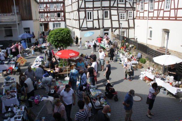 Der Flohmarkt findet statt zwischen Sand- und Mühlenstraße. Foto: nh