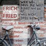 Plakat zum Vortrag mit Dr. Werner Seibel im Alten Pfarrhaus Wernswig. Repro: nh