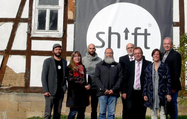 Carsten Waldeck, Petra Wagner, Samuel Waldeck, Axel Ermke, Rainer Geisel, Winfried Becker, Sonja Pauly, Claus Steinmetz (v.li.). Foto: nh
