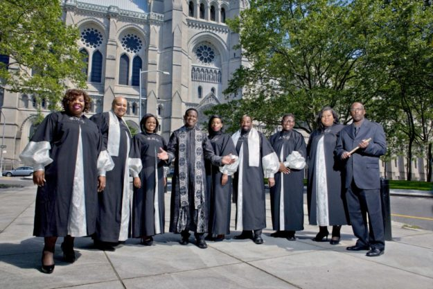 """Reverend Gregory M. Kelly & the Best of Harlem Gospel"". Foto: nh"
