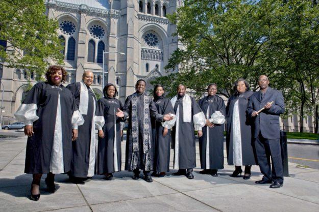 """""""Reverend Gregory M. Kelly & the Best of Harlem Gospel"""". Foto: nh"""