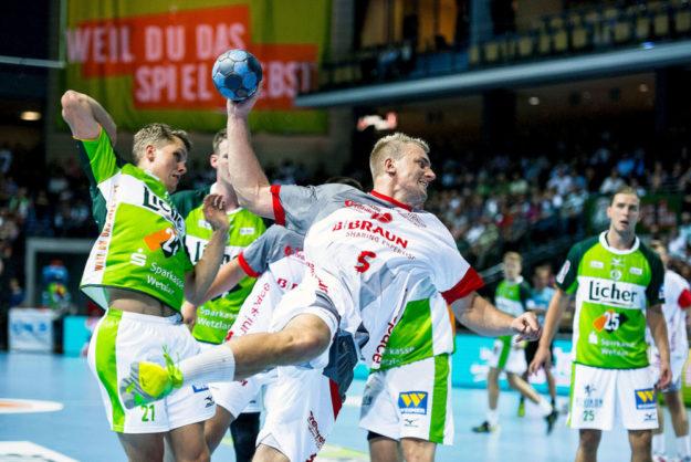 Mit dem verletzten Julius Kühn fällt eine tragende Säule der MT und der Nationalmannschaft für mindestens sechs Monate aus. Foto: Käsler