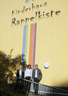 Wiebke Knell (MdL) besuchte die KiTa Rappelkiste in Schwalmstadt. Foto: nh