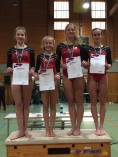 Viermal Gold für die Melsunger Athletinnen. Foto: nh