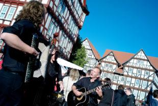 """Live-Musik gehört zu """"Nordhessen geschmackvoll!"""" einfach dazu. Foto: nh"""