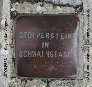 Entlang der Wege der Stolpersteine führt eine Erinnerungswanderung mit Bernd Lindenthal am 9. November. Foto: nh