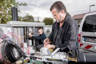 Der Breitbandausbau kommt in Melsungen jetzt gut 4.000 Haushalten zugute. Foto: Telekom