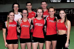 Das erfolgreiche MT-Team in Erfurt. Foto: nh