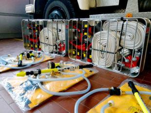 Das Land Hessen hat allen Katastrophenschutzlöschzügen die »Sondereinsatzmittel Waldbrand« spendiert. Foto: nh