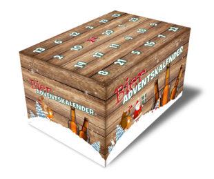 Der neue Bier-Adventskalender wird auf Initiative der Braumanufaktur Rehbock in limitierter Auflage angeboten. Foto: nh