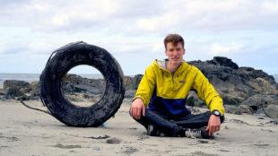 Christian Weigand will mit dem Projekt «Blue Awareness» zum Schutz der Ozeane einladen. Foto: nh
