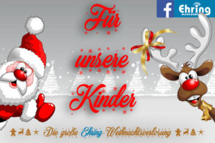 Kinderaktion der Homberger Firma Ehring im Advent 2018. Repro: nh