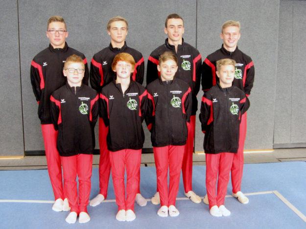 Die Landesligamannschaft der MT Melsungen überzeugte die Kampfrichter. Foto: nh