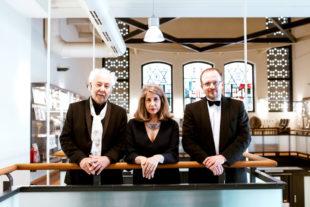 Susan Borofsky, L. Joseph Heid und Yaromyr Bozenko halten die Erinnerung an Leonard Cohen wach. Foto: nh
