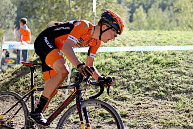 Max Feger wurde Hessischer Vizemeister im Querfeldeinrennen. Foto: Christina Keilmann