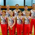 Mit geschlossener Mannschaftsleistung erreichten die Männer der MT Melsungen beim 2. Wettkampf der Landesliga Limburg Rang 2. Foto: nh