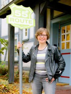 Projektkoordinatorin Melanie Nöll ist immer mittwochs im »Route 55plus« zu sprechen. Foto: nh