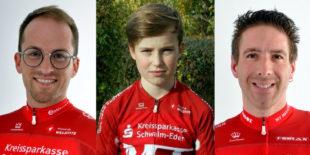 Die drei Melsunger Rohloffcup-Sieger 2018. Fotos: Margraf | Kaiser