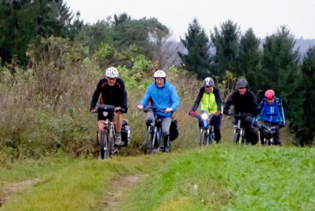 Eine anspruchsvolle Mountainbike-Tour veranstaltet der ADFC, Ortsgruppe Schwalmstadt, am kommenden Sonntag. Foto: nh