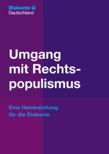Titelblatt der Handreichung »Umgang mit Rechtspopulismus«. Foto: nh