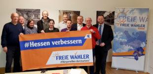 Die FREIEN WÄHLER Hessen wollen den per Quorum erfassten Bürgerwillen umsetzen und weiterhin für die Abschaffung der »Strabs« kämpfen. Foto: nh