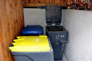 Hausmüll, Bioabfälle und Papier sind die schwersten Bestandteile in den hessischen Tonnen. Aber auch Sperrmüll und Gelber Sack fließen in die Statistik ein. Foto: Schmidtkunz