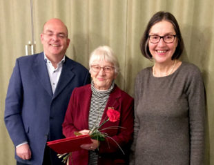 Dr. Edgar Franke (MdB), Hannelene Staloch und Regine Müller (v.li.). Foto: nh