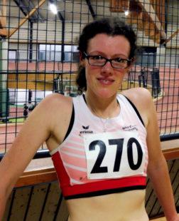 Luise Zieba war in Paderborn nach ihren 11.21 Minuten nicht unzufrieden. Foto: nh