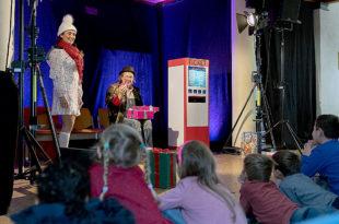 """Das Musiktheater Lupe zeigte das Stück """"Wolff und Weihnachtsstern"""". Foto: Hephata"""