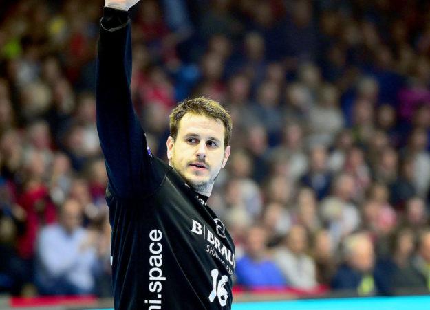 Mit Glanzparaden und einer ausgezeichneten sportlichen Leistung eroberte Nebojsa Simic die Herzen der Fans. Foto: Hartung