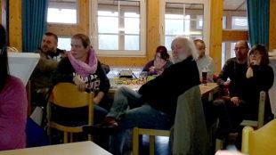 Interessiert verfolgten die Gäste die Vorjahresberichte und den Ausblick auf die kommenden Rallye-Termine. Foto: nh