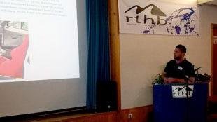 Anhand von Powerpoint-Vorträgen wurden die Vereinszahlen und Rallye-Daten veranschaulicht. Foto: nh