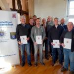 Die Ausbildung von 16 Freiwilligen Polizeihelfern hat begonnen. Sie gehen künftig auf Streife durch Fritzlar ...