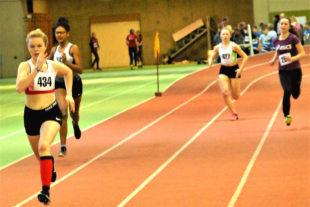 Bereits nach 100 Meter hatte sich Vivian Groppe einen deutlichen Vorsprung herausgelaufen. Foto: nh