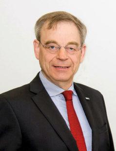Eberhard Flammer, Vorsitzender der Arbeitsgemeinschaft hessischer Industrie- und Handelskammern (ARGE). Foto: HIHK, Paul Müller