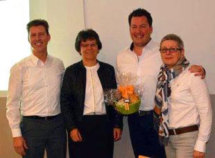 Dr. med. Jochen Röthele, Claudia Thiel, PD Dr. med. Holger Engel, Alexandra Sorge. Foto: nh