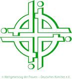 Offizielles Logo des Weltgebetstages der Frauen.