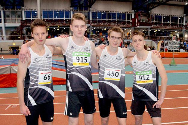 David Soose, Jannis Völker , Nico Wilhelm, Tim Göbel (v.li.). Foto: Bernd Feldmann