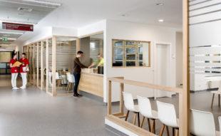 Der Wartebereich in der Klinik wurde ebenfalls auf moderne Standards umgestellt. Foto: nh