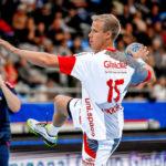 Lasse Mikkelsen im Hinspiel am 2.9.18 in Bietigheim. Foto: Alibek Käsler