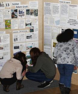 Der Werdegang der Homberger Seminaristen stieß bei den Schülerinnen und Schülern auf großes Interesse. Foto: nh