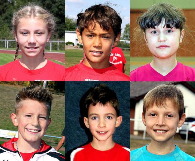 Die Melsunger Leichtathleten waren auch bei den Kreismeisterschaften der U14 am erfolgreichsten. Fotos: Schattner | nh