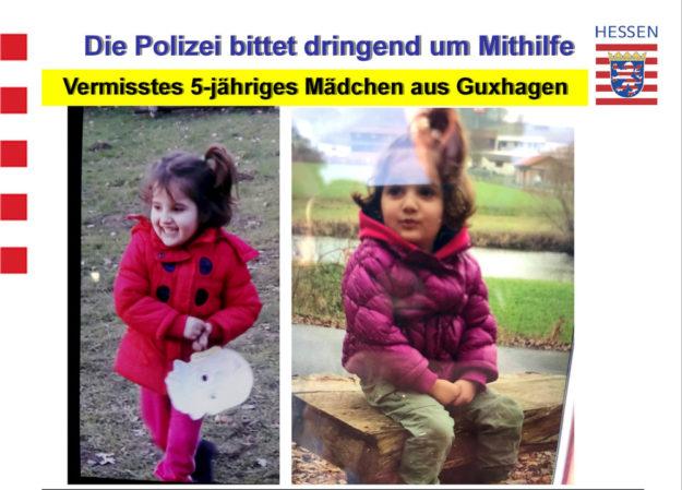 Die kleine Kaweyar ist noch nicht gefunden. Nun bittet die Polizei um Mithilfe bei der Fahndung. Foto: Polizei | privat