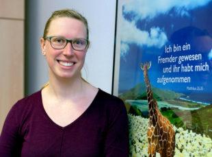 Sonja Müller ist die neue Koordinatorin für das Forum Asyl. Foto: Hephata